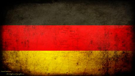 German Grunge National Flag